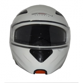 HELMET ZEN ZN-301 FLIP-UP WHITE
