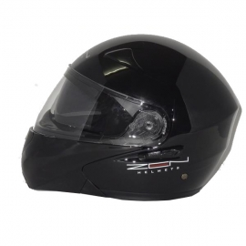 HELMET ZEN ZN-301 FLIP-UP BLACK