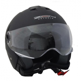 HELMET ZEN ZN - 107 OPEN BLACK MATTE