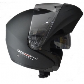 HELMET ZEN ZN-301 FLIP-UP BLACK MATTE