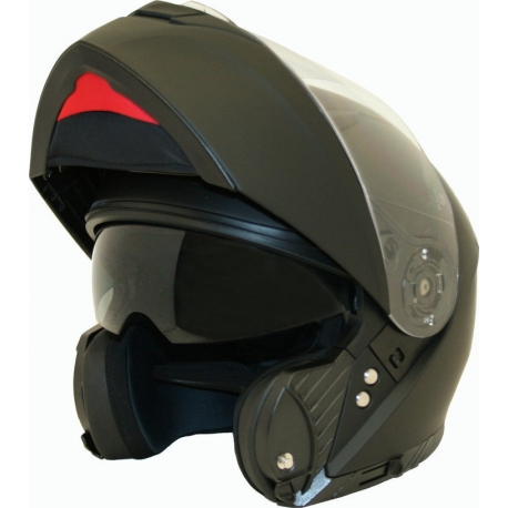 HELMET CORSA FLIP UP CF180 BLACK MAT