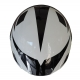 HELMET CORSA CN105 GRAPHICS WHITE / BLACK