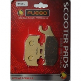 BRAKE PADS MOTO FRONT FUEGO FOR HONDA SH 300ie (2007-20013), HONDA SH 150 (2009-2011)