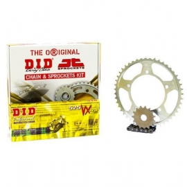 CHAIN AND SPROCKET KIT ΜΟΤΟ DID-JT FOR: HONDA XLV 1000 VARADERO 1999 - 2013 Black Chain VX X RING
