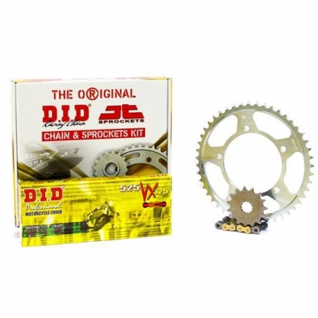 CHAIN AND SPROCKET KIT ΜΟΤΟ DID - JT FOR: HONDA XLV 1000 VARADERO GOLD CHAIN VX X RING