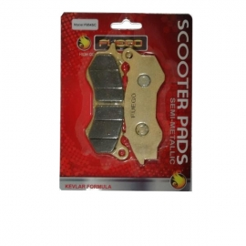 BRAKE PADS MOTO FRONT FUEGO FOR HONDA PCX 125ie, HONDA SH 125 ie Mode 4T Lc