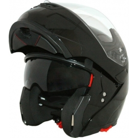 HELMET CORSA FLIP UP CF155 BLACK