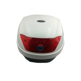 MOTORCYCLE TOP CASE F-28 FALCON WHITE 28lt
