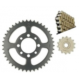 CHAIN AND SPROCKET KIT JT O-RING FOR HONDA INNOVA 125 428H