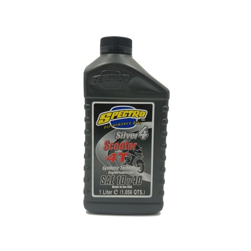 SPECTRO SILVER SCOOTER 10W40 4T SYNTHETIC TECHNOLOGY SCOOTER OIL 1L