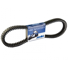 SCOOTER DRIVE BELT POLINI KEVLAR FOR MALAGUTI MADISON 250cc, F 12 250 cc (mot. Piaggio)