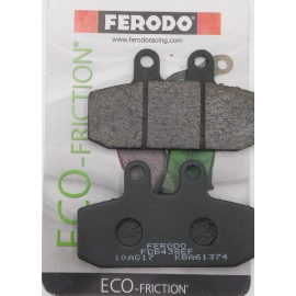 BRAKE PADS SCOOTER FERODO FOR APRILIA SCARABEO 125