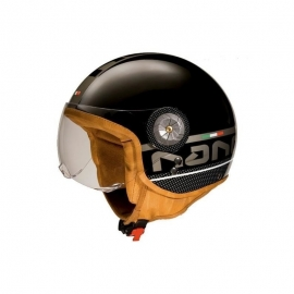 HELMET BEON B-110 BLACK - GREY
