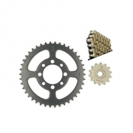 CHAIN AND SPROCKET KIT JT O-RING FOR HONDA ASTREA GRAND