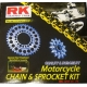 CHAIN AND SPROCKET KIT RK 525 GXW FOR HONDA CBF 600