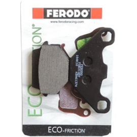 BRAKE PADS FERODO FOR KAWASAKI KDX 125