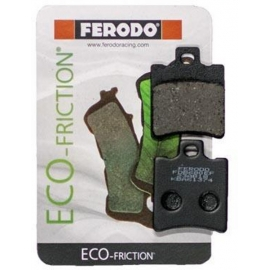 SCOOTER BRAKE PADS FERODO FDB680EF FOR APRILIA LEONARDO 150 (REAR)