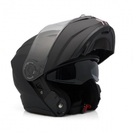 HELMET ZEN ZN-908 FLIP-UP BLACK MATTE