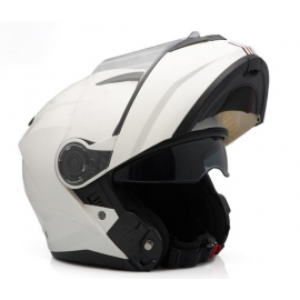 HELMET ZEN ZN-908 FLIP-UP WHITE