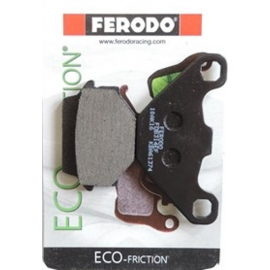 BRAKE PADS FERODO FOR KAWASAKI KLR 650 (REAR)
