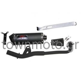 EXHAUST APIDO FOR HONDA ASTREA GRAND 100 cc RACING BLACK