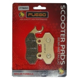 BRAKE PADS MOTO REAR FUEGO FOR SYM CITYCOM 300/300 ie