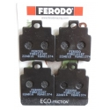 SCOOTER BRAKE PADS FERODO FDB2141EF FOR SYM GTS 300 (FRONT)