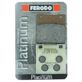 BRAKE PADS FERODO FDB338P PLATINUM FOR KAWASAKI / SUZUKI (REAR)