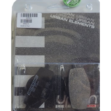 BRAKE PADS BRAKING 685SM1 FOR YAMAHA