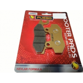 BRAKE PADS MOTO FRONT FUEGO FOR KYMCO PEOPLE 250 S/250S i/300, KYMCO VIVIO 125/150
