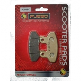 BRAKE PADS MOTO FRONT FUEGO FOR SYM JOYRIDE 125/125 EVO/150/200, SYM VS 125/150