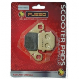 BRAKE PADS MOTO REAR FUEGO FOR APRILIA MOTO 6.5, APRILIA PEGASO 125