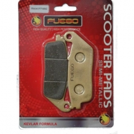 BRAKE PADS MOTO REAR FUEGO FOR HONDA FJS 600 SW-T, KYMCO XCITING 400 ie