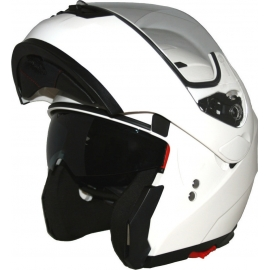 HELMET CORSA FLIP UP CF155 WHITE