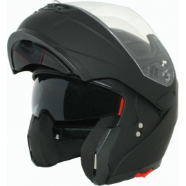 HELMET CORSA FLIP UP CF155 BLACK MATTE