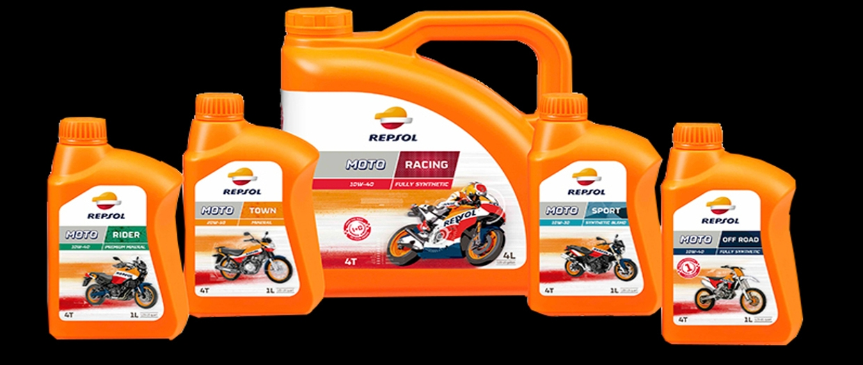 REPSOL MOTORCYCLE OIL